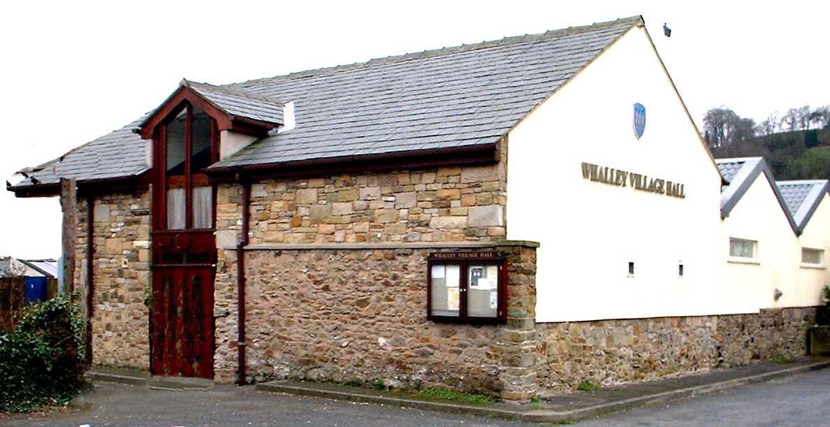 WHALLEY  VILLAGE  HALL NOW