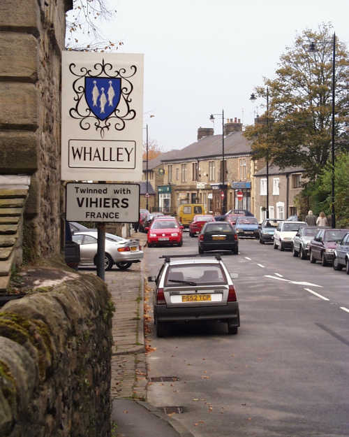 Entering Whalley from Billington